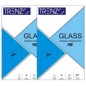 Vivo Y15 Tempered Glass Screen Guard By Trenzo-packof2