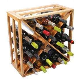 Bamboo Stackable Wine Holder