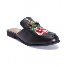 Truffle Collection Black Flats