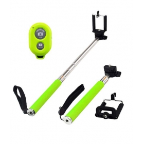 Try Ultimate Selfie Stick, Monopod With Wireless Bluetooth Remote