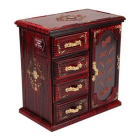 Single Door-cupboard Design Jewellery & Makeup Vanity Jewellery Box