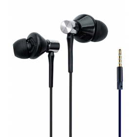 Ubon L K3 Note In Ear Wired Earphones With Mic Black