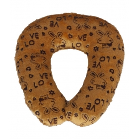 Ultra Baby Neck Cushion Brown 9 Inches