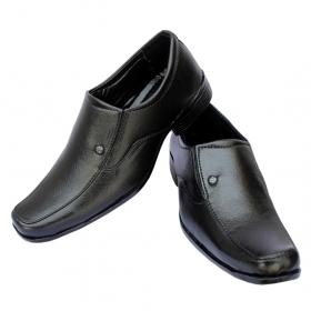 Sunbright Men's Shoes Black Formal Slip On 203_6