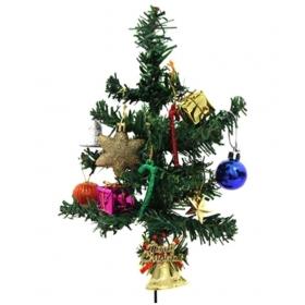 Unique Arts & Interiors. Plastic Christmas Tree Multicolour- 1 Ft -(pack Of 1)