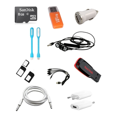 10 In 1 Mobile Accessories Combo Pack