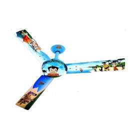 Usha 48 Chota Bheem Beach Fun Kids Fan Ceiling Fan Multicolour