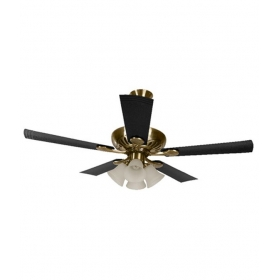 Usha 1250 Mm Fontana Maple Ceiling Fan Antique Brass