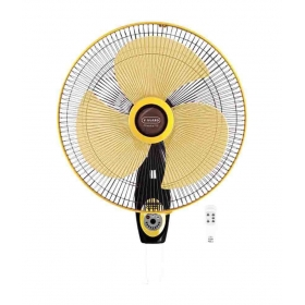 V-guard Finesta Rw Remote Wall Fan - Yellow And Black