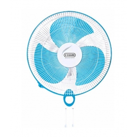 V-guard Finesta Std Wall Fan - Blue And White