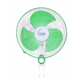 V-guard Finesta Std Wall Fan - Green And White