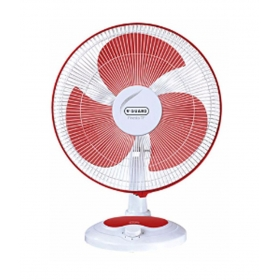 V-guard Finesta Tf 400 Mm Table Fan - Red And White
