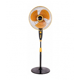 V-guard Wilma Sts 400 Mm Pedestal Fan - Yellow And Black
