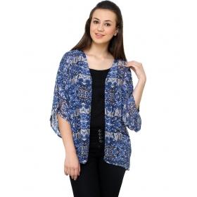 Blue Viscose Shirts