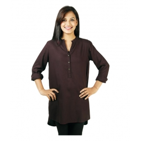 Maroon Rayon Full Sleeves Shirts