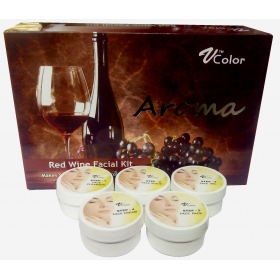 V-color Aroma Wine Facial Kit 270 G