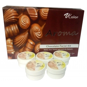 V-color Aroma Chocolate Facial Kit 270 G