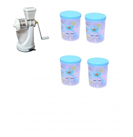 Vinayaka Juicer  With 400ml (4) Containers