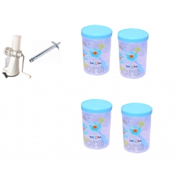 Vinayaka Juicer With 400ml (4) Containers Free Gas Lighter