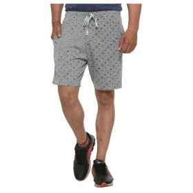 Designer Grey Men Shorts