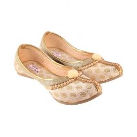 Beige Ethnic Footwear