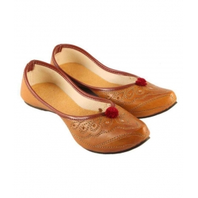 Brown Ethnic Footwear