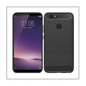 Vivo V7 Plus Plain Cases -black