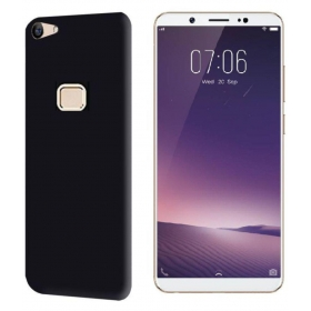 Vivo V7 Plus Soft Silicon Cases Black