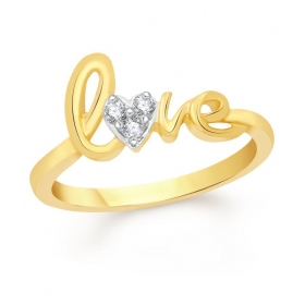18kt Gold Plated Ring