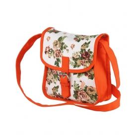 Vivinkaa White Canvas Sling Bag