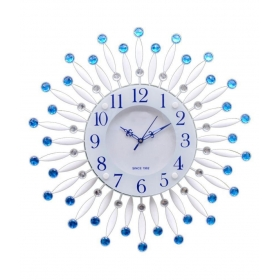 Wallace Circular Analog Wall Clock - Victor211-blue 19