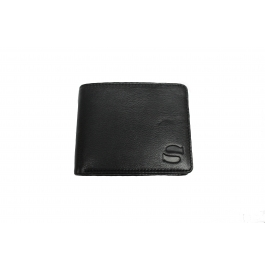 Men Genuine Leather Wallet  (6 Card Slots)