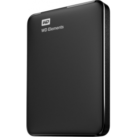 Wd Elements 2.5 Inch 1 Tb External Hard Drive ( Black )