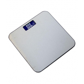 Digital Electronic Body Fitness Weighing Scale Digital Electronic Personal Weighing Scale Silver, Gray