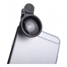 Wide Angel Selfie Cam With Universal Clip Mobile Phone Lens (wide And Macro)