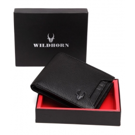 Wildhorn Leather Black Casual Regular Wallet