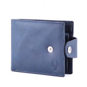 Wildhorn Leather Blue Men Regular Wallet