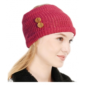 Winter Woolen Womens Headband Earwarmer Earmuff