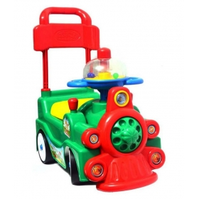 4 Wheel Toddler Train Rocker Car