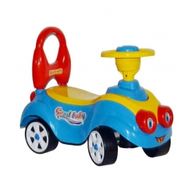 4 Wheel Toddlers Rider & Push Along Small Magic Car With Horn