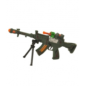 Green Plastic Combat Gun