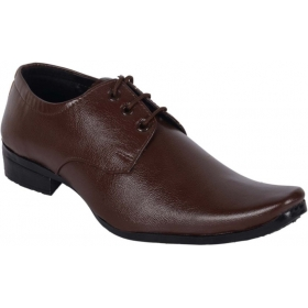 Formal Stylish & Trendy Lace Up  (brown)