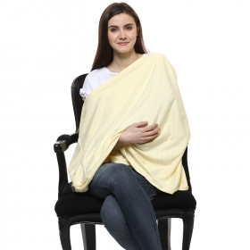 Yellow Cotton Nursing Cover