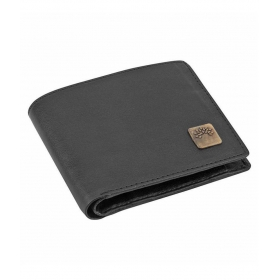 Woodland Clue Leather Black Casual Regular Wallet