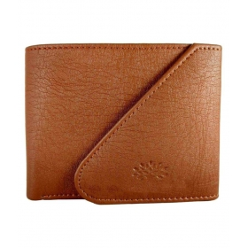 Woodland Imports Leather Tan Fashion Regular Wallet