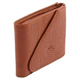 Woodland Imports Pu Tan Formal Short Wallet
