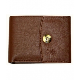 Woodland Lander Leather Brown Casual Long Wallet