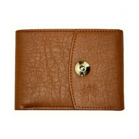 Woodland Lander Leather Tan Casual Long Wallet