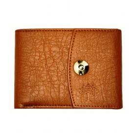 Woodland Lander Leather Tan Formal Short Wallet