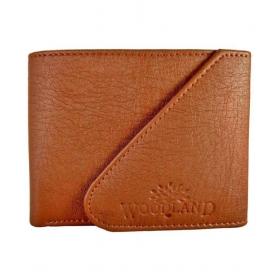 Woodland Lander Leather Tan Formal Regular Wallet